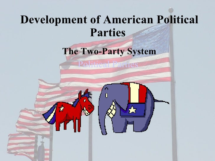 american political party system Political parties are essential institutions of democracy by competing in elections parties offer citizens a choice in governance, and while in opposition they can.