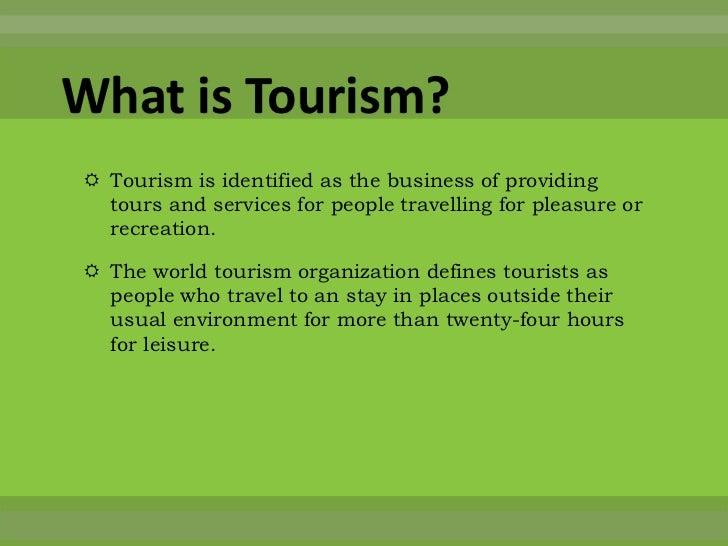 essay about cultural tourism