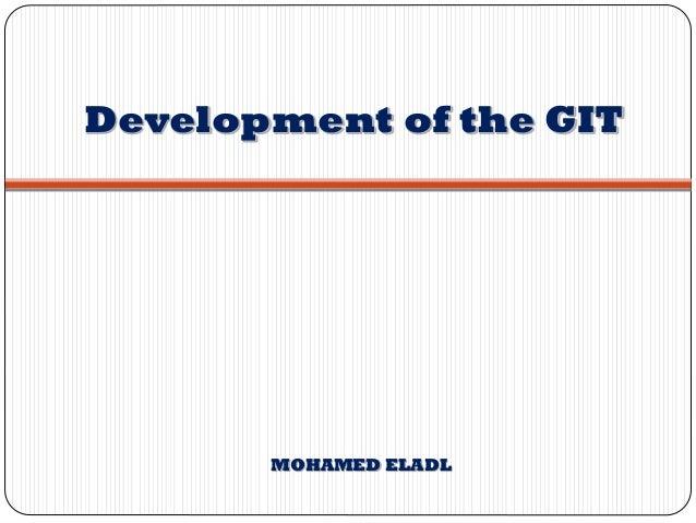 Development of the GIT MOHAMED ELADL