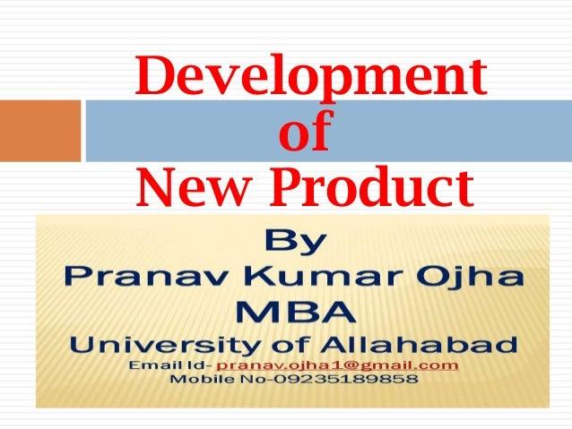 Development     ofNew Product