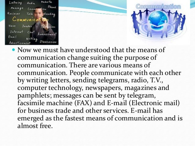 essays on evolution of transport and communication Transport more search for: facebook  those magical portable technology boxes have become an essential part of interpersonal communication,  the mid-'90s was.