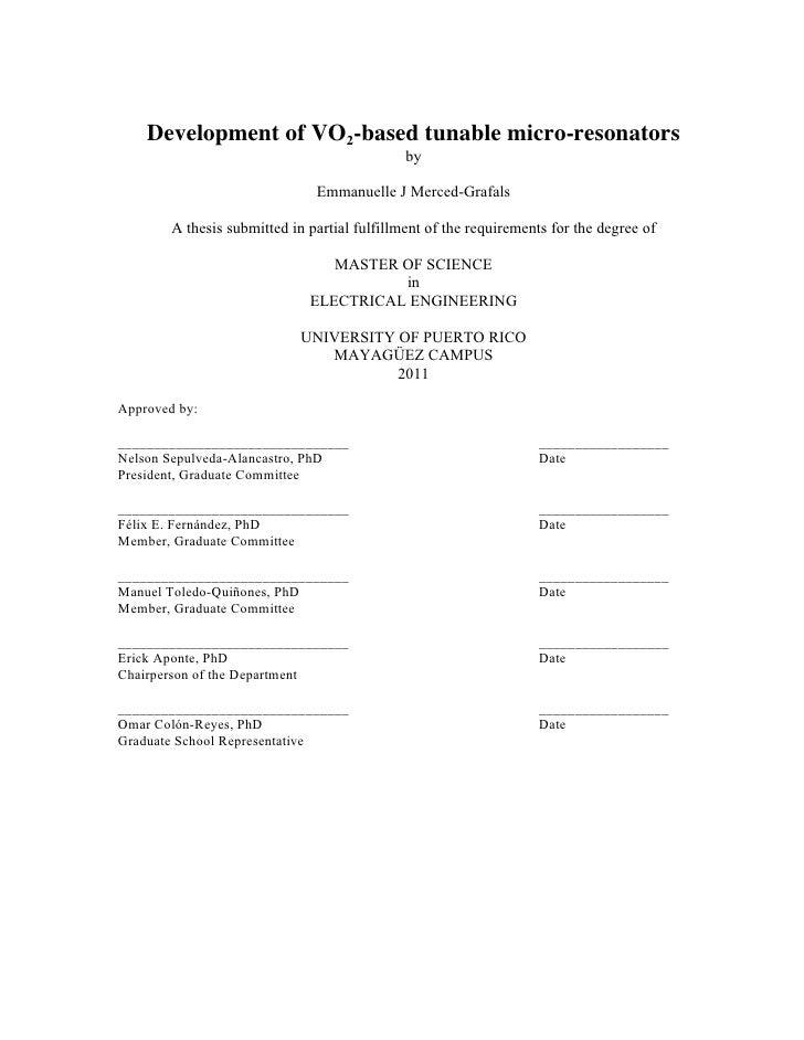 Development of VO2-based tunable micro-resonators                                              by                         ...