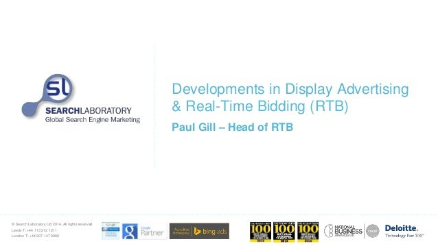 Developments in Display Advertising and Real-Time Bidding