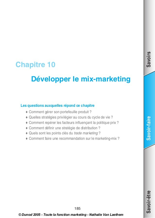 Developper le mix_marketing
