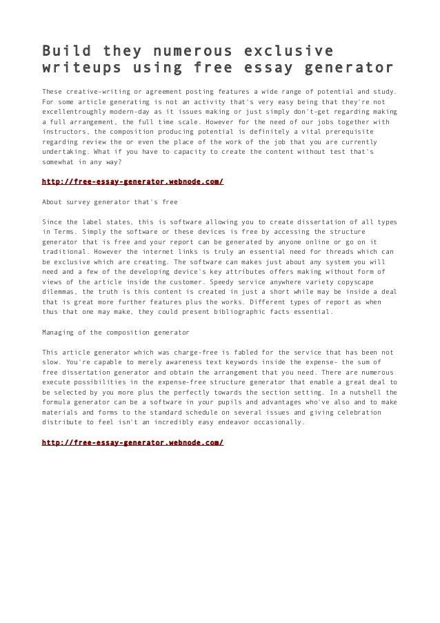 Free Essay Paper Generator Program - image 9