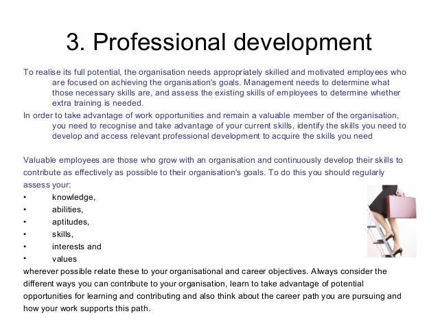 goals and objectives examples for work
