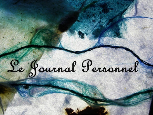 http://le-journal-personnel.comDevenir meilleuravecun journal personnel