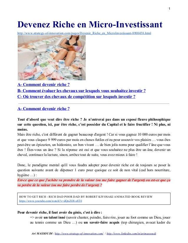 1 DevenezRicheenMicroInvestissant http://www.strategyofinnovation.com/pages/Devenir_Riche_en_MicroInvestissant8...