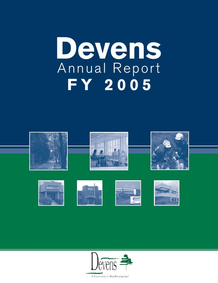Devens Annual Report  FY 2005