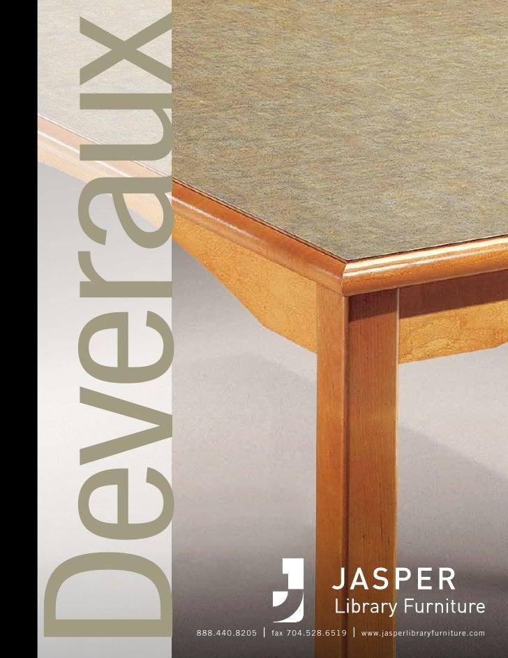 Jasper Library Furniture- Deveraux Design Series  Brochure