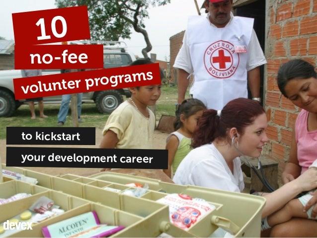 10 no-fee volunteer programs to kickstart your development career