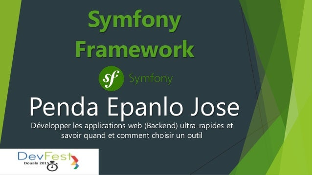 Penda Epanlo Jose Symfony Framework Développer les applications web (Backend) ultra-rapides et savoir quand et comment cho...