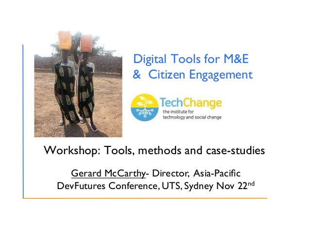 Deploying digital tools for evaluation & citizen engagement