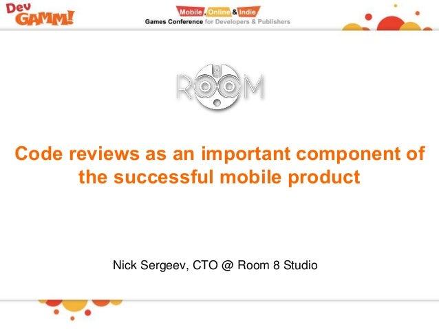 Room8: Внедрение практик code review как важная составляющая успеха мобильного продукта