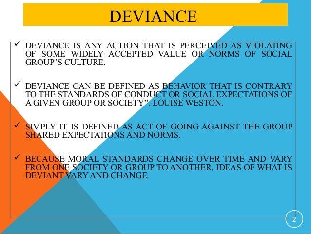 social deviance essays
