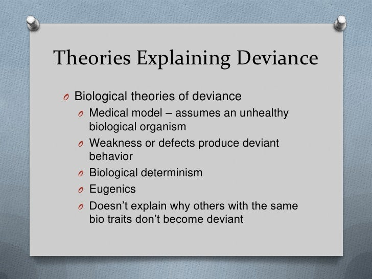 essay on social change and deviance The social-conflict approach links deviance to social inequality: deviance in sociology: definition, theories & examples related study why do leaves change color.