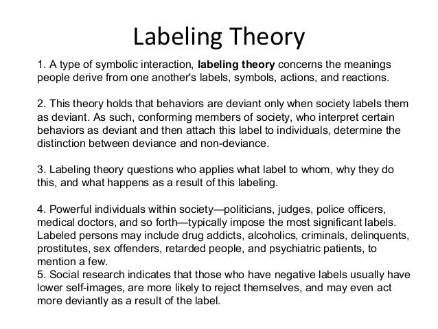 labeling people in society We label not just people but everything it is a shortcut to understanding that served us well as we evolved from simple mammals to what we are today labelling is ingrained in us it is delusion upon ourselves and left unmanaged it does in fact hurt our own view of relationships with anyone we label negatively any single time we label them.