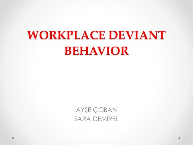 workplace deviance organizational citizenship behavior and 1, 131–142 0021-9010/02/$500 doi: 101037//0021-9010871131  organizational citizenship behavior and workplace deviance: the role of affect  and.