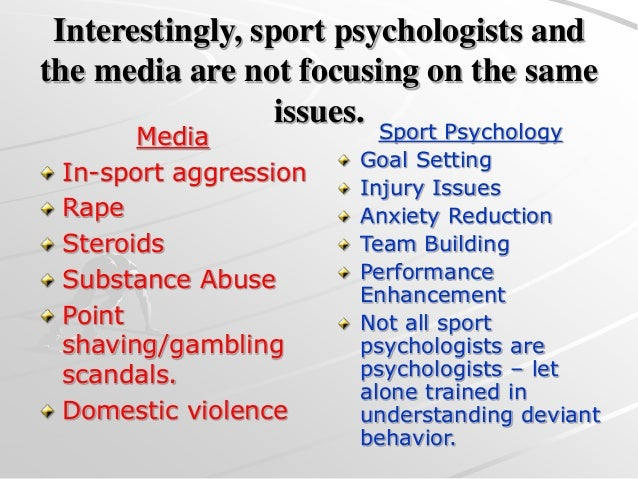 aggression behavior in sports by Applied psychology opus home the body of literature focusing on the associations between participation in organized sports and aggressive and violent behavior.