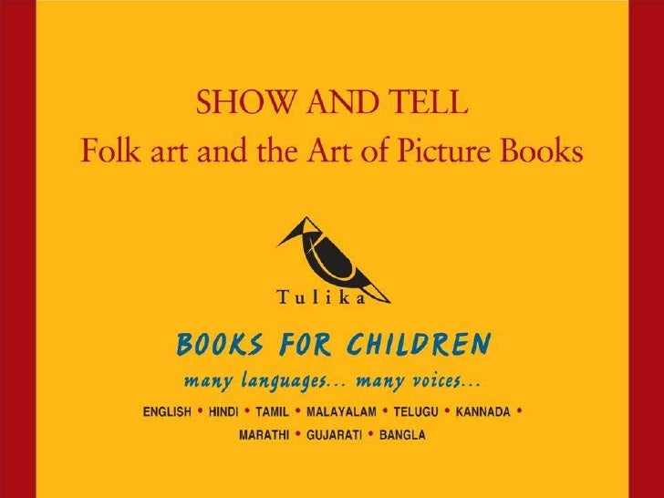Show and Tell: Folk Art and the Art of the Picture Book