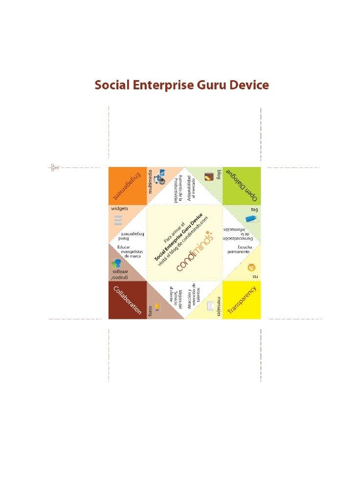 Social Enterprise Guru Device