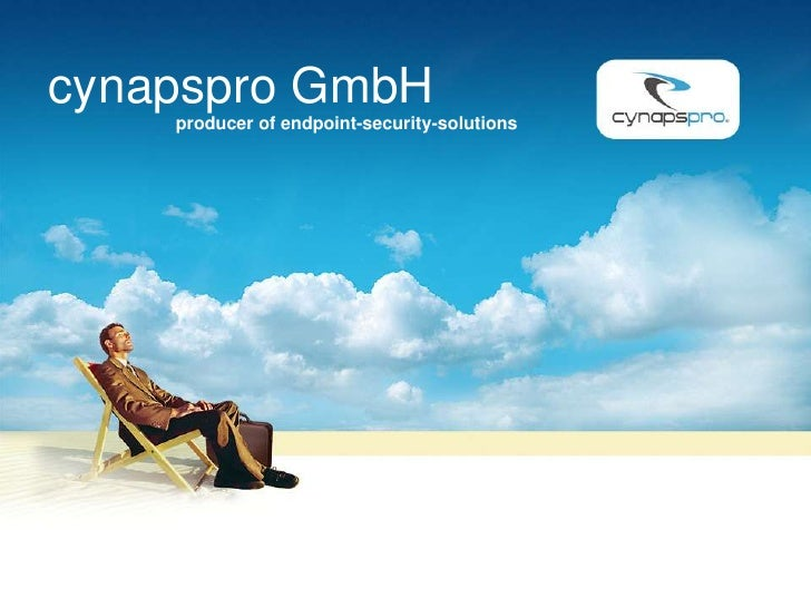 cynapspro GmbH     producer of endpoint-security-solutions