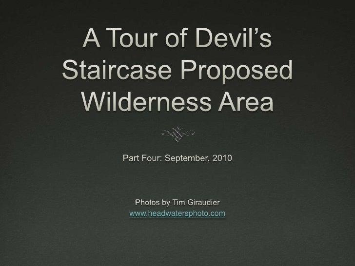 Devil's staircase slideshow 4
