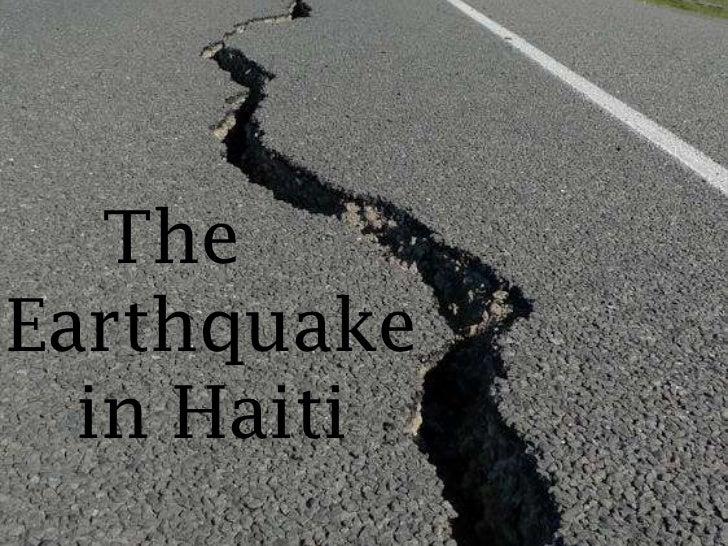 TheEarthquake  in Haiti