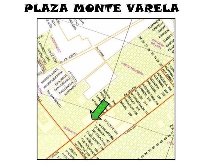 Devolución a los vecinos Plaza frente al monte Varela.