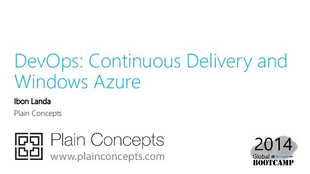 Dev ops: Continuous delivery and Windows Azure