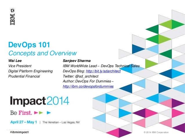 DevOps 101 - IBM Impact 2014