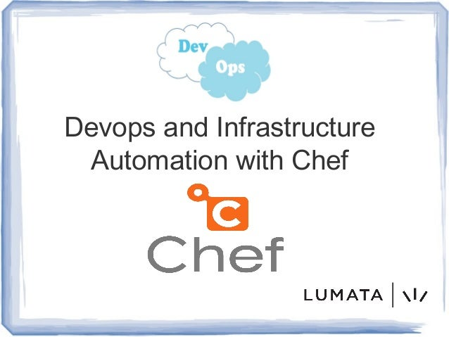 Devops and Infrastructure Automation with Chef