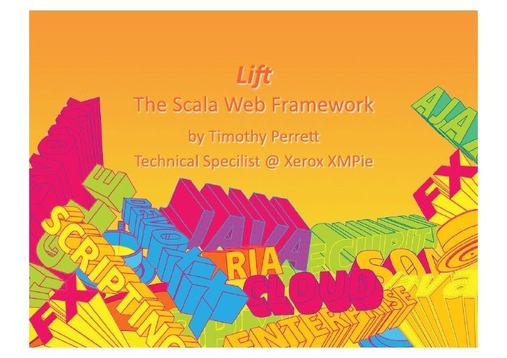 Devoxx 2009: The Lift Framework