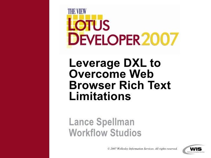 leverage dxl
