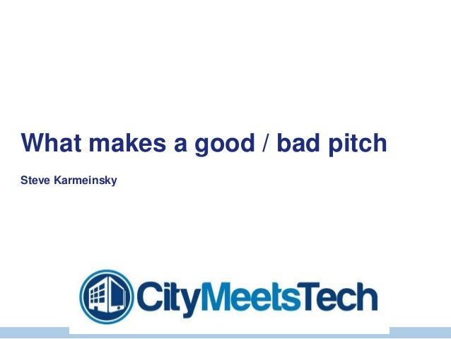 © Copyright THUS Group plc 2005. All rights reserved.What makes a good / bad pitchSteve Karmeinsky