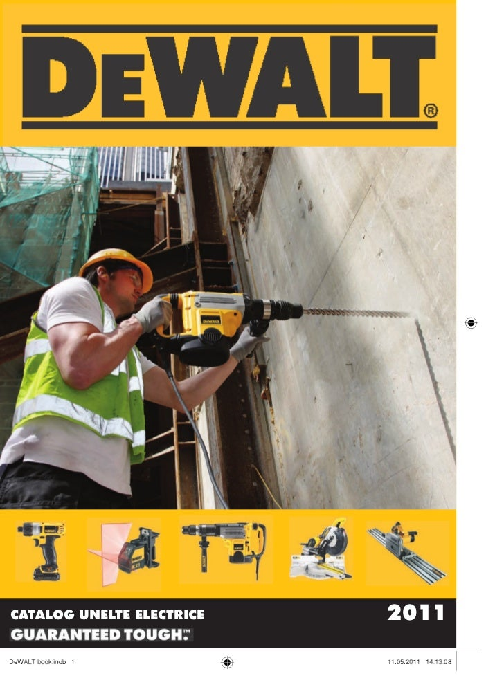 Catalog unelte electrice Dewalt 2011 final