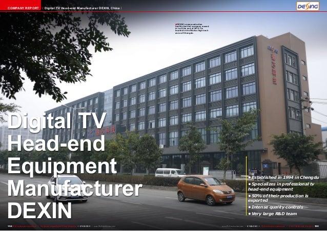 ■ 194 195TELE-audiovision International — The World's Largest Digital TV Trade Magazine — 07-08/2013 — www.TELE-audiovisio...