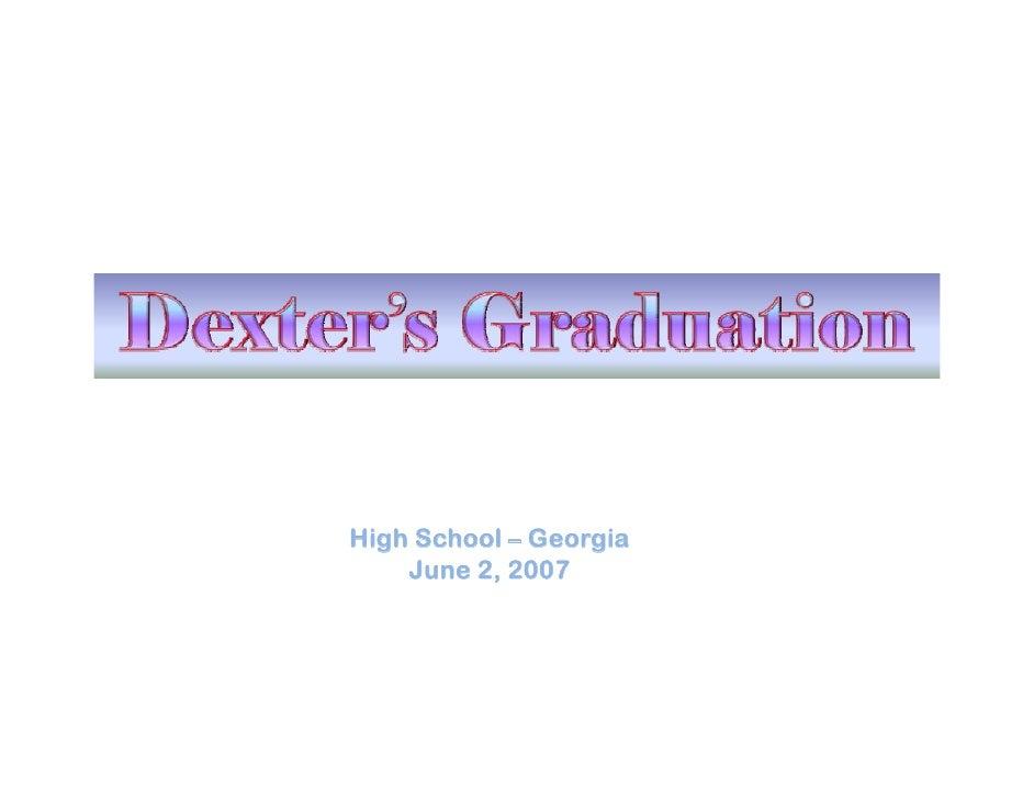 High School – Georgia   g               g     June 2, 2007