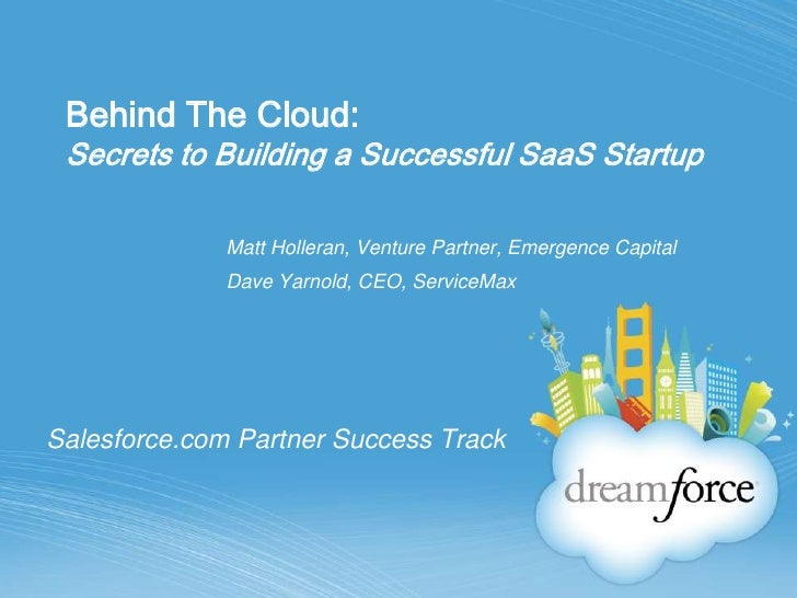 Secrets to SaaS Start Up Success