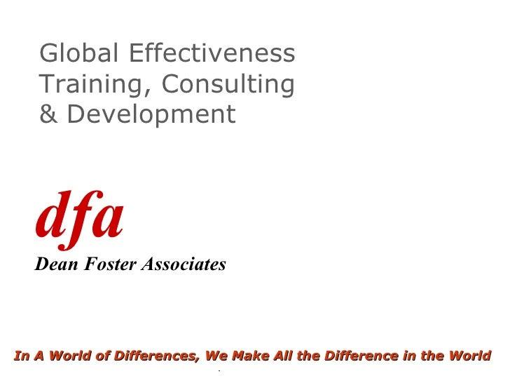 Dfa Presentation