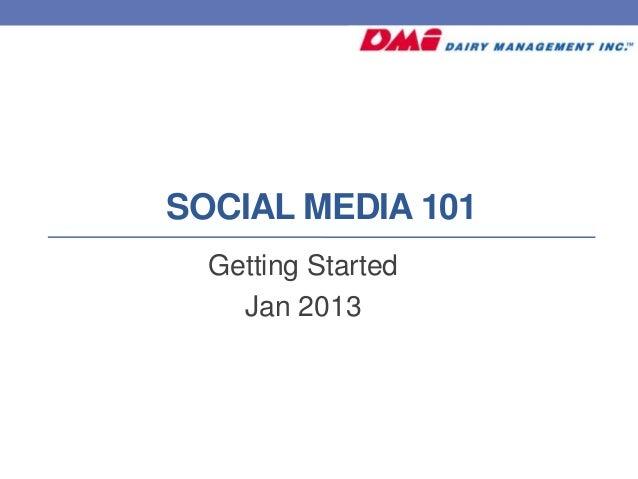 DFA Social Media Class at AgConnect 2013