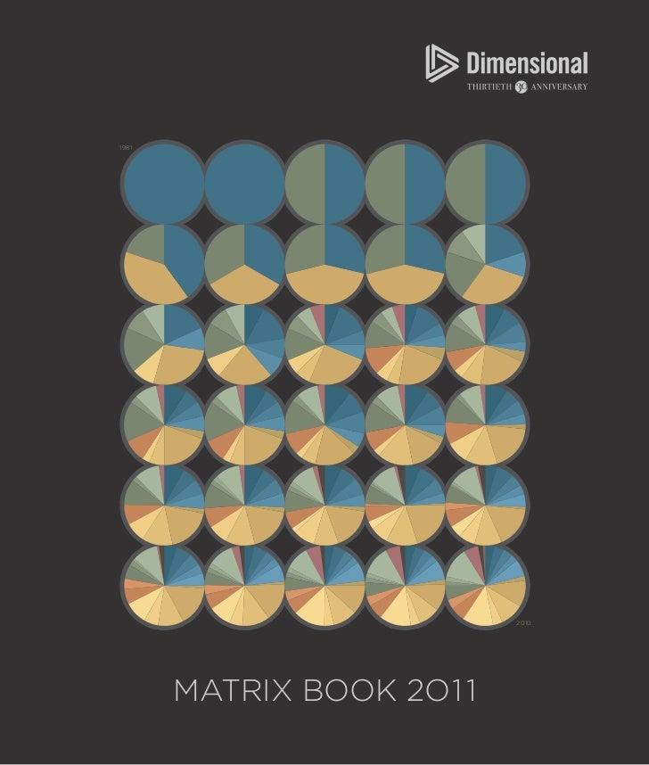 1981                           2010       MATRIX BOOK 2O1 1