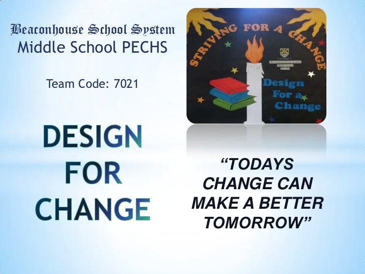 "Beaconhouse School System Middle School PECHS     Team Code: 7021                               ""TODAYS                   ..."