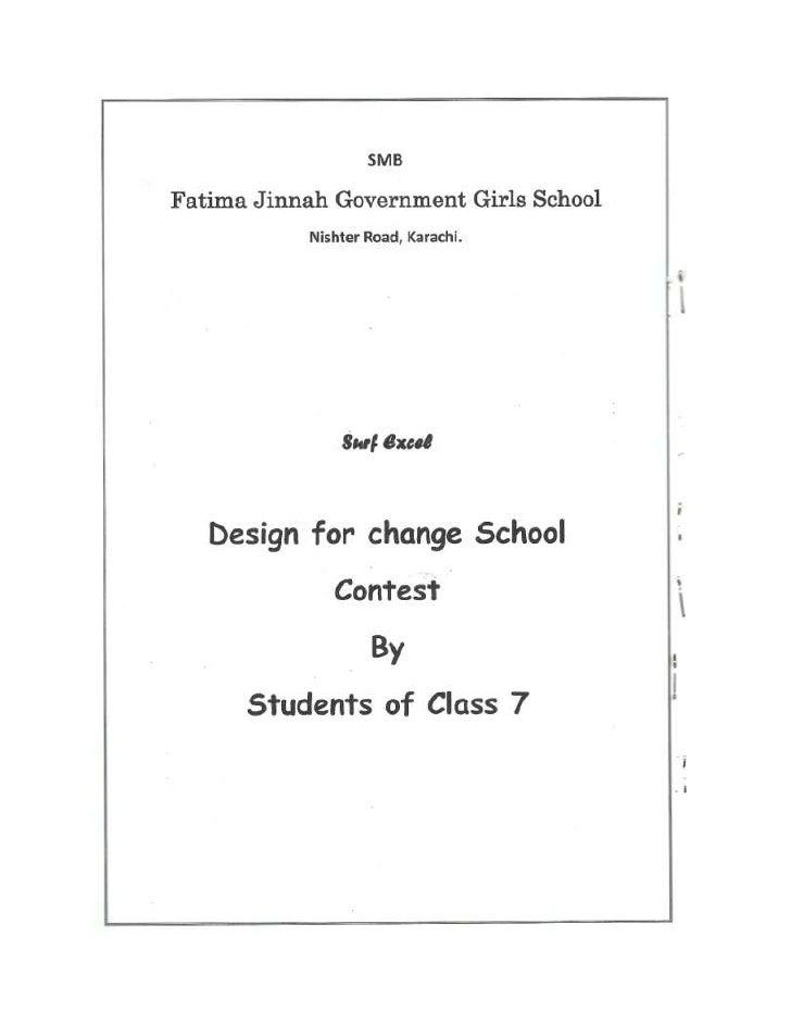Zindagi Trust, SMB Fatima Jinnah Govt Girls School, Karachi