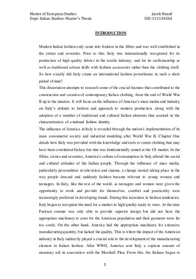 Master thesis lake davis