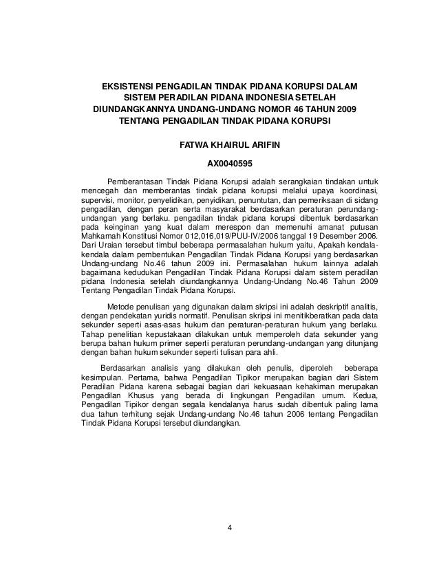 tesis hukum pidana usu