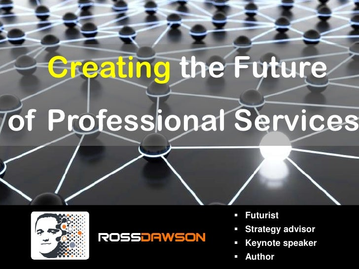Workshop: Creating the Future of Professional Services