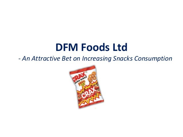 DFM Foods Ltd - An Attractive Bet on Increasing Snacks Consumption