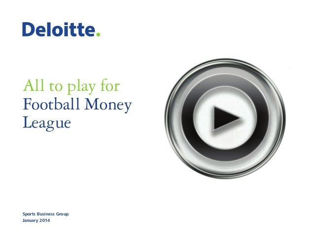 Deloitte Football Money League 2014