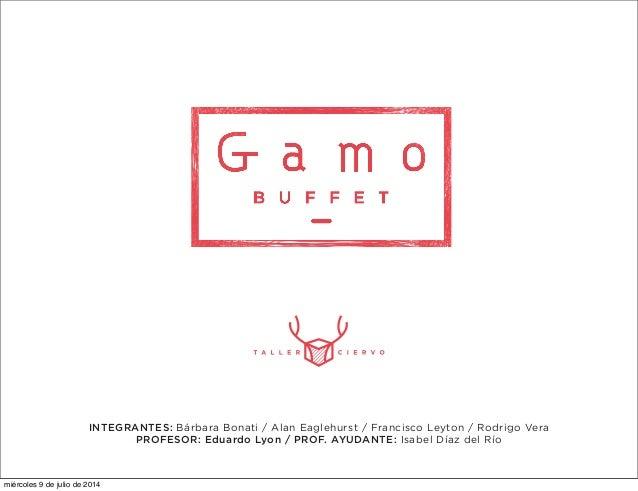 GAMO | Diseño Orientado a la Manufactura, MADA